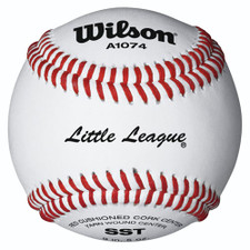 Wilson A1074 Little League Tournament Ball From On Deck Sports