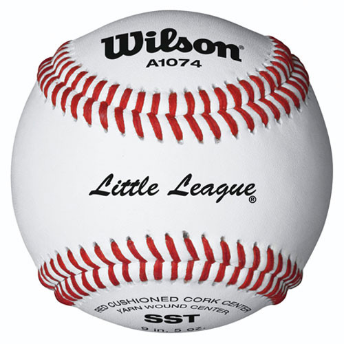Wilson A1074 Little League Tournament Ball From On Deck Sports