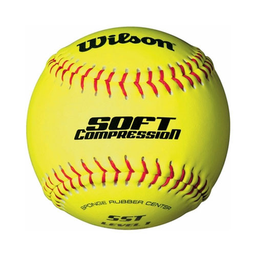 "11"" Wilson Soft Compression Softballs from On Deck Sports"