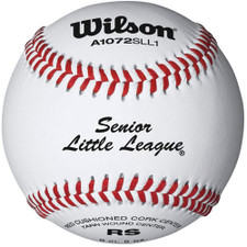 One Dozen Wilson A1072 Senior Little League Baseball