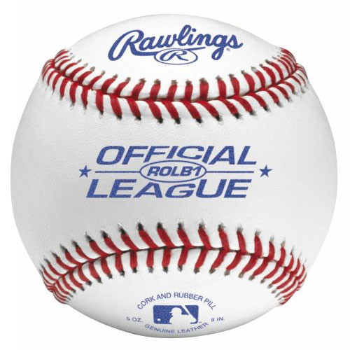 Rawlings ROLB1 Raised Seam Official League Baseballs from On Deck Sports