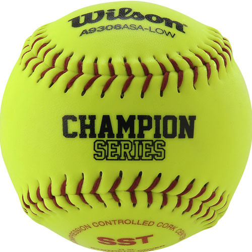 "11"" Wilson ASA Softballs from On Deck Sports"