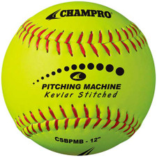 Kevlar Stitched Pitching Machine Softball from On Deck Sports