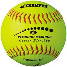 Kevlar Stitched Pitching Machine Softball