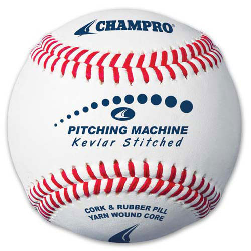 Kevlar Stitched Champro Leather Pitching Machine Baseballs CBBPMB from On Deck Sports