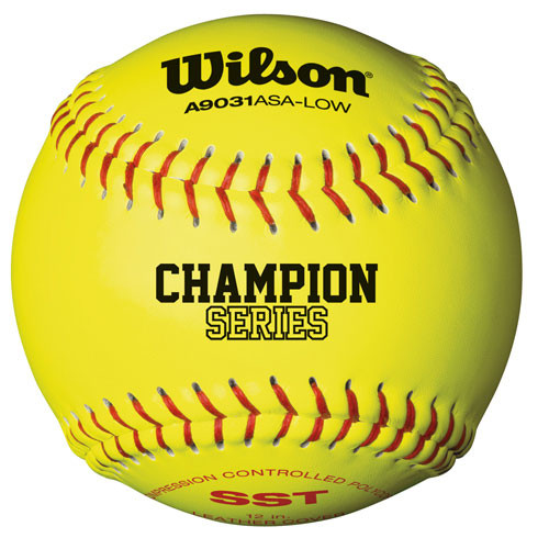"12"" Wilson A9031 Softball from On Deck Sports"