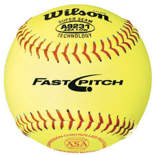 "11"" Wilson A9231 Softballs from On Deck Sports"
