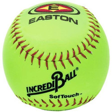 "Easton SofTouch Incrediball 12"" Neon Softball"