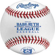 One Dozen Rawlings RBRO Raised Seam Babe Ruth League Baseballs