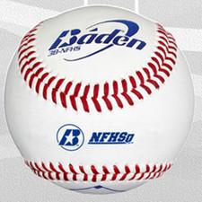 One Dozen Baden 3B-NFHS Raised Seam High School Baseballs