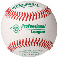 One Dozen Diamond D1-PRO DS Raised Seam Professional League Baseballs from On Deck Sports