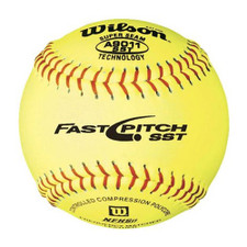 One Dozen Wilson A9011 Softballs from On Deck Sports