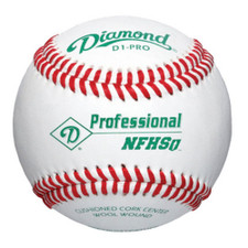 Diamond D1-PRO NFHS Raised Seam High School Baseballs from On Deck Sports