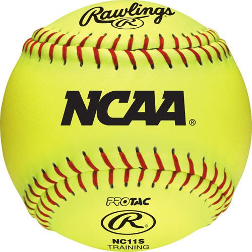 "11"" Rawlings NCAA Soft Training Softballs from On Deck Sports"