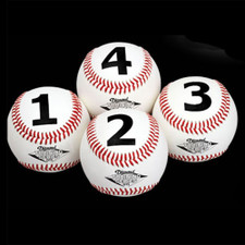 Diamond Numbered Training Baseballs DTS-BB 1234