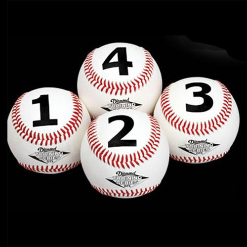 Diamond Numbered Training Baseballs DTS-BB 1234