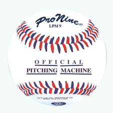 One Dozen Pro Nine LPM9 Leather Pitching Machine Baseball from On Deck Sports