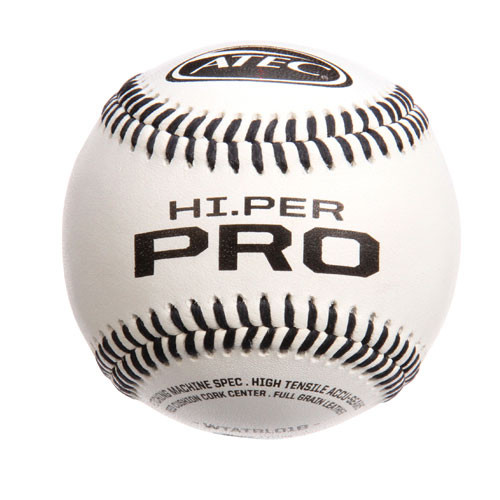 One Dozen Atec HI.Per Pro Leather Pitching Machine Baseballs