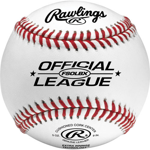 Rawlings FSOLBX Flat Seam Official League Practice Baseballs