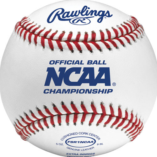 Rawlings FSR1NCAA Flat Seam NCAA Official Baseballs