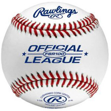 One Dozen Rawlings FSR100 Flat Seam College Baseballs from On Deck Sports