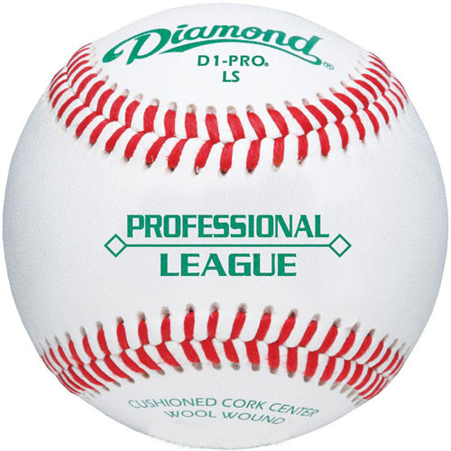 Diamond D1-PRO LS Low Seam Professional League Baseballs from On Deck Sports