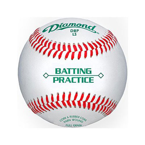 One Dozen Diamond Batting Practice Baseballs from On Deck Sports