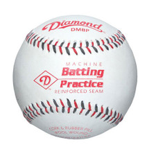 Diamond Leather Pitching Machine Baseballs