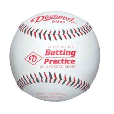 One Dozen Diamond Leather Pitching Machine Baseballs from On Deck Sports