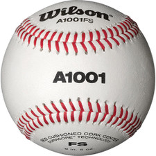 One Dozen Wilson A1001 Flat Seam Baseballs from On Deck Sports