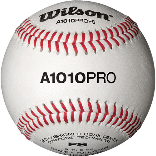 Wilson A1010BPROFS Flat Seam College Baseballs