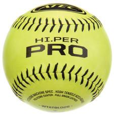 Three Dozen Yellow ATEC HI.PER Pro Softballs