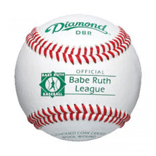 One Dozen Diamond DBR Babe Ruth League Baseballs from On Deck Sports