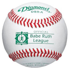 One Dozen Diamond DBR-A Raised Seam Babe Ruth League Baseballs