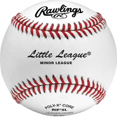 Rawlings RIF5L Little League Training Baseballs