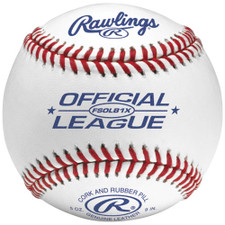 Rawlings FSOLB1X Flat Seam Official League Practice Baseballs