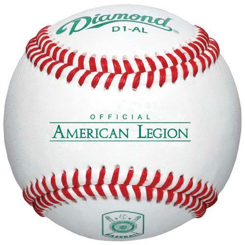 Diamond D1-AL Raised Seam Legion Baseballs from On Deck Sports