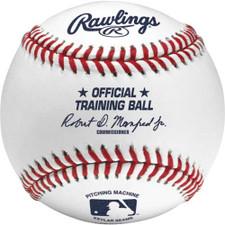 One Dozen Rawlings Official League Leather Pitching Machine Baseballs