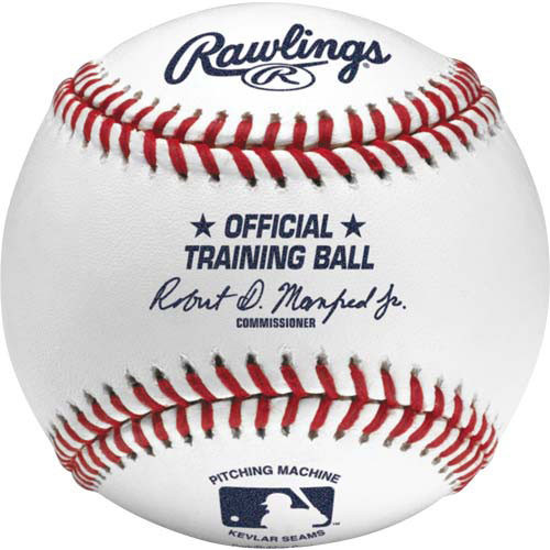 Rawlings Leather Pitching Machine Baseballs