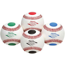 Diamond Dotted Training Baseballs from On Deck Sports