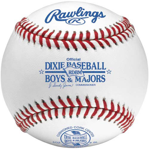 Rawlings RDBM Raised Seam Dixie Adult League Baseballs from On Deck Sports