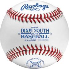 Rawlings RDYB Raised Seam Dixie Youth League Baseballs
