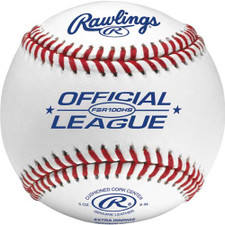 One Dozen Rawlings FSR100HS Flat Seam High School Baseballs