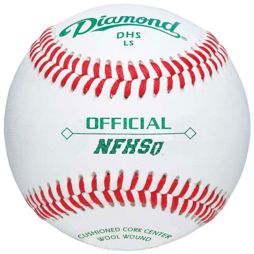 Diamond DHS LS Flat Seam High School Baseballs from On Deck Sports