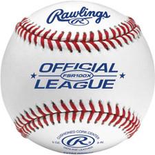 One Dozen Rawlings FSR100X Flat Seam High School Practice Baseballs from On Deck Sports