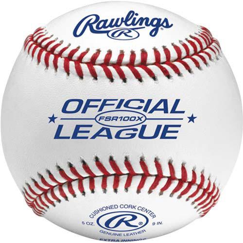 Rawlings FSR100X Flat Seam High School Practice Baseballs