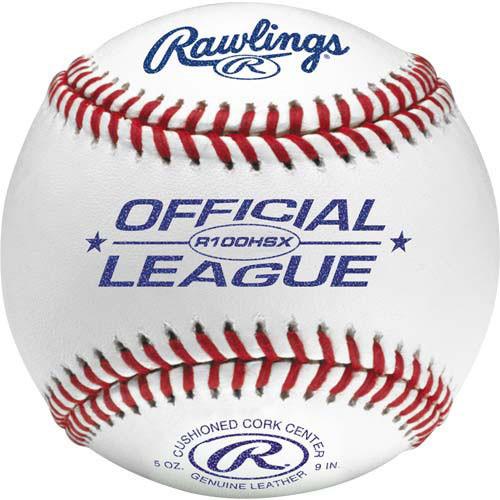 Rawlings R100HSX Raised Seam High School Practice Baseballs