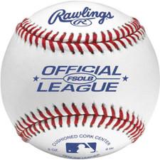 One Dozen Rawlings FSOLB Flat Seam Official League Baseballs