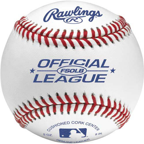 Rawlings FSOLB Flat Seam Official League Baseballs