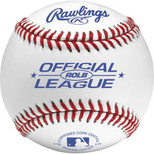 One Dozen Rawlings ROLB Raised Seam Official League Baseballs from On Deck Sports